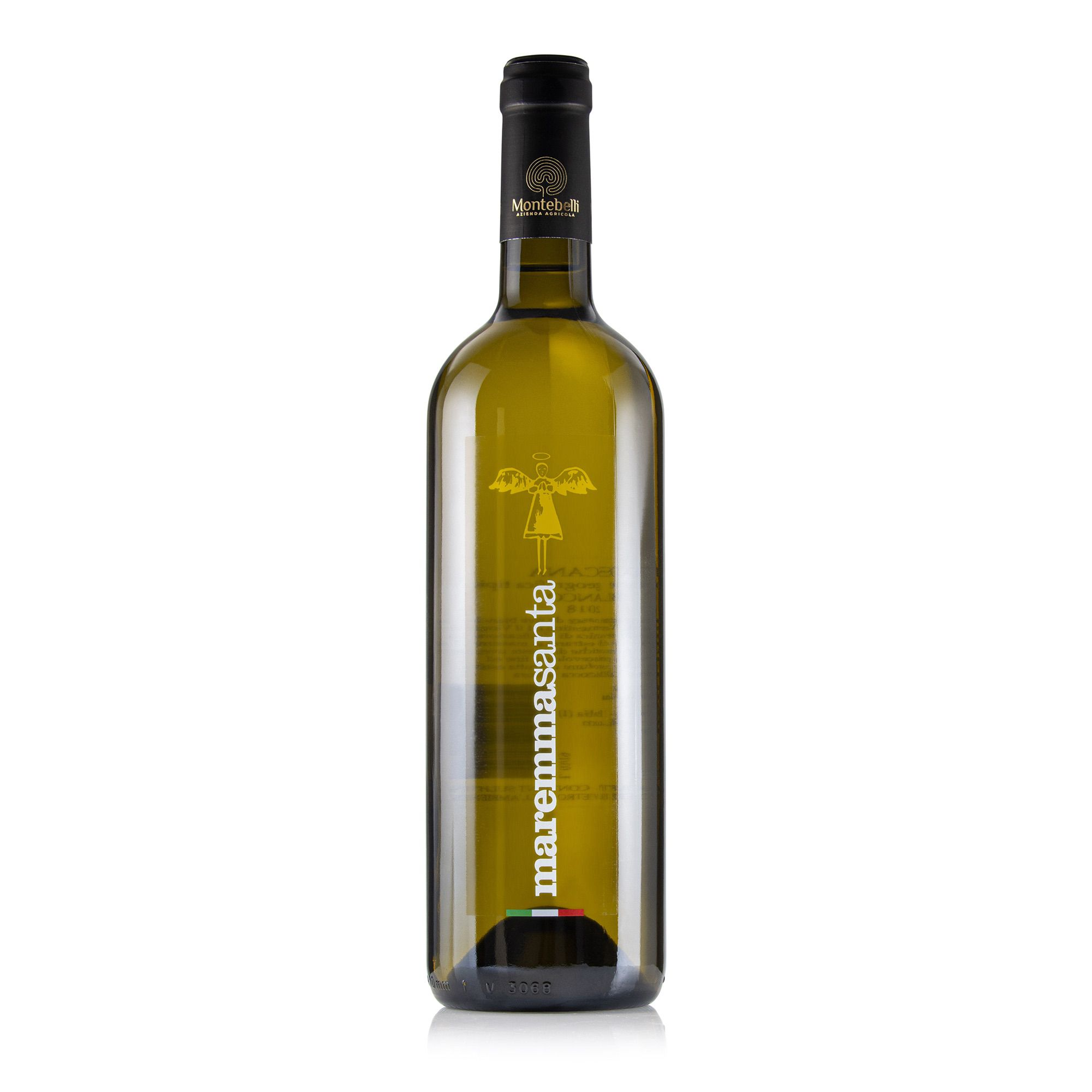 Maremma Santa IGT Tuscany White Wine Montebelli organic farmhouse