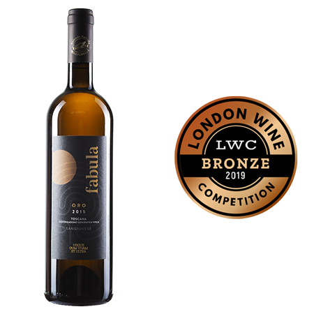 Montebelli vino rosso Fabula Oro Bronze London Wine Competition