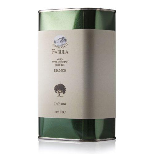 Olio Biologico Extravergine d'oliva in latta 1 l Azienda Agricola Biologica Montebelli